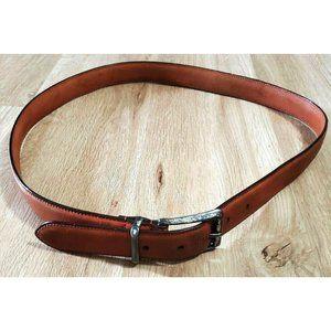 Coach Mens 5901 British Tan Leather Belt Size 38